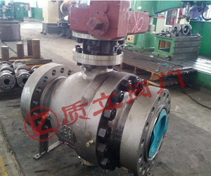 API6D Trunnion ball valve