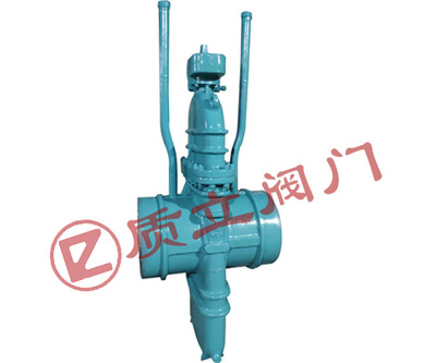 Gas Flat gate valve with double vent
