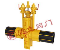PE Gas slab gete valve,Flat gas gate valve with PE pipe